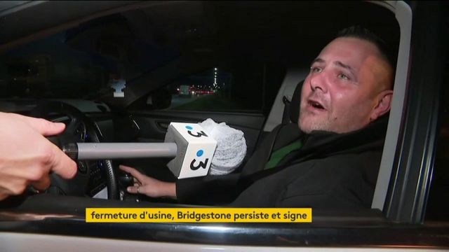 Fermeture de l'usine Bridgestone : les salariés écœurés