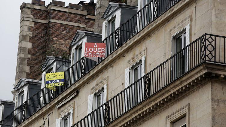 Des logements en location à Paris, le 13 octobre 2015 (illustration). (VINCENT ISORE / MAXPPP)