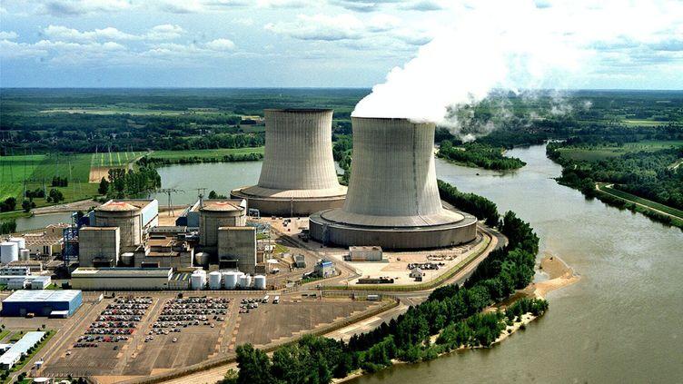 (La centrale nucléaire de Saint-Laurent des Eaux est concernée par ces démantèlements de réacteurs à l'arrêt ©MaxPPP)