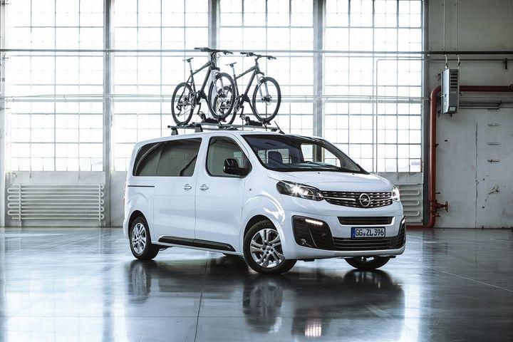 L'Opel Zafira Life, modèle familial par excellence. (STEFAN BISCHOFF OPEL POUR FRANCE INFO)
