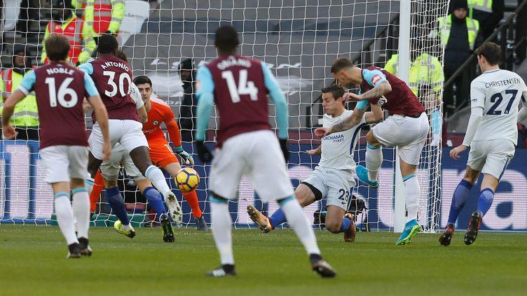 Arnautovic (West Ham) marque contre Chelsea