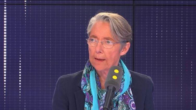 Elisabeth Borne, ministre des Transports, invitée de franceinfo le 1er mars 2019. (FRANCEINFO / RADIOFRANCE)