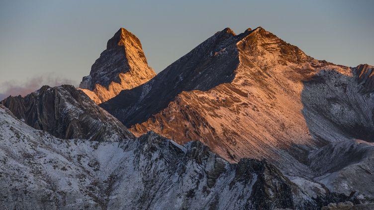 Les Aiguille d'Arves Meridionale dans les Alpes (MONTICO LIONEL / HEMIS.FR / AFP)