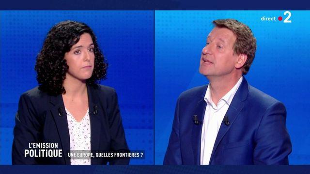 Passe d'arme sur le Brexit entre Manon Aubry et Yannick Jadot