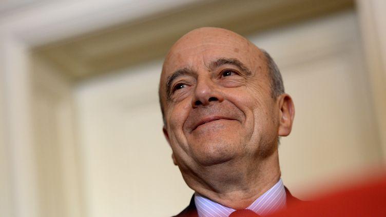 Alain Juppé, maire LR de Bordeaux (Gironde), le 9 mars 2017. (NICOLAS TUCAT / AFP)
