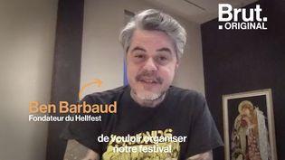 """VIDEO. """"C'est la survie du Hellfest qui est en jeu"""" : Le fondateur du festival tire la sonnette d'alarme (BRUT)"""