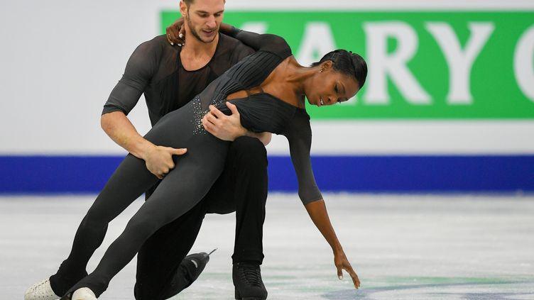 les Français Vanessa James et Morgan Ciprès (VLADIMIR PESNYA / SPUTNIK)