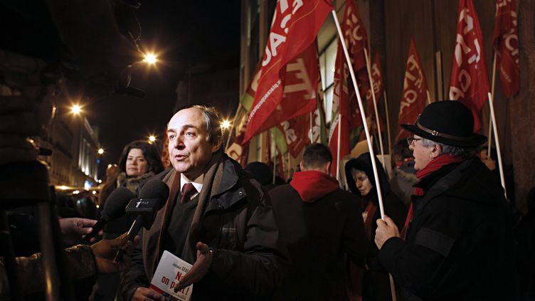 L'économiste Jacques Généreux s'imagine président en mai prochain (THOMAS SAMSON / AFP)