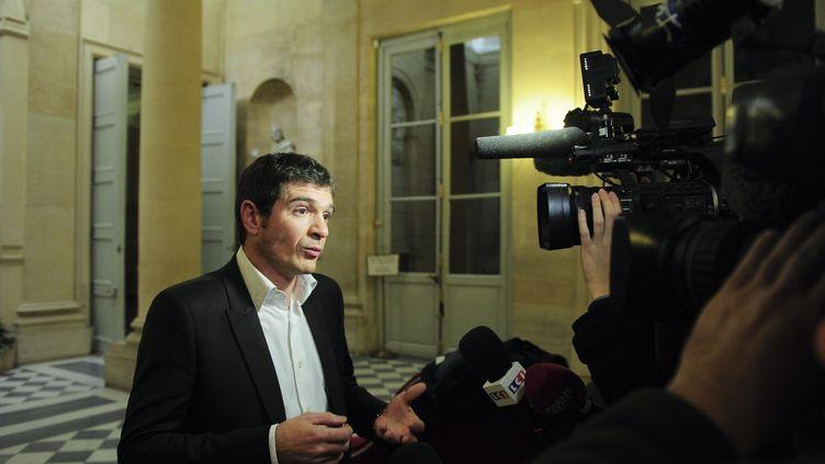 Benoist Apparu, le 22 novembre 2012 à l'Assemblée nationale. (MAXPPP)