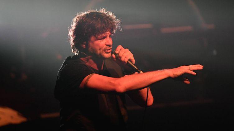 Bertrand Cantat lors d'un concert à Nantes (Loire-Atlantique) le 4 juin 2018. (MAXPPP)