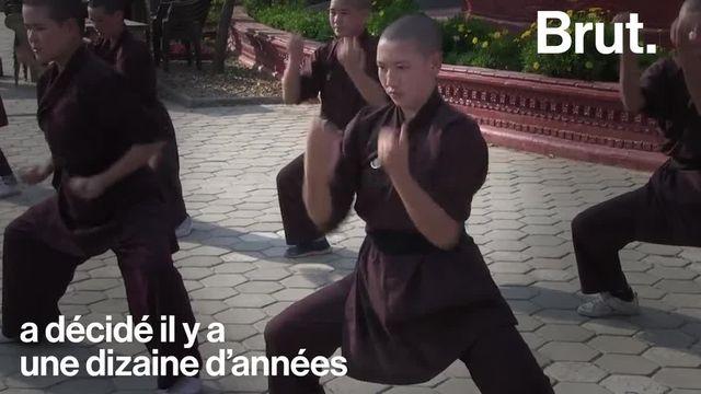À Katmandou, au Népal, des nonnes bouddhistes pratiquent et enseignent le kung-fu, d'ordinaire réservé aux hommes.