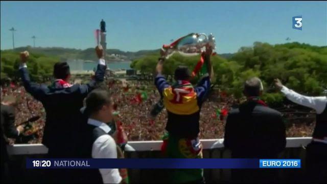Euro 2016 : jour de gloire au Portugal
