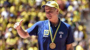 Bernardinho a remporté tous les trophées comme entraineur du Brésil. Son nouveau défise dessine auprès de l'équipe de France de volleyball avec, dans le viseur, Paris 2024. (RICARDO BOTELHO / BRAZIL PHOTO PRESS)