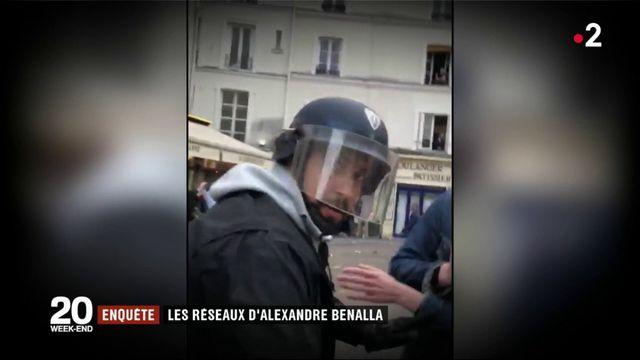 Enquête : les réseaux d'Alexandre Benalla