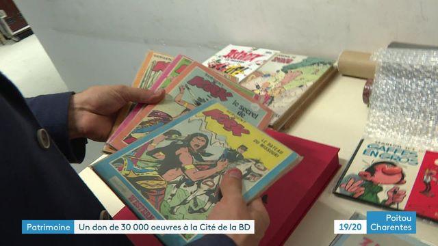Un don de 30 000 ouvrages à la Cité de la BD d'Angoulême