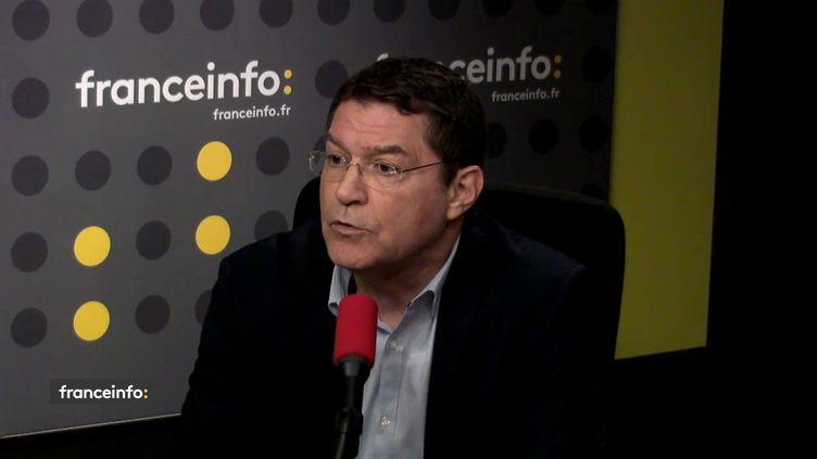 Marc Attali, ministre plénipotentiaire d'Israël en France, mercredi 6 juin sur franceinfo. (RADIO FRANCE / FRANCEINFO)