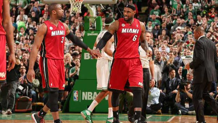 Satisfaction pour Wade et James avec un 23e succès de suite pour Miami