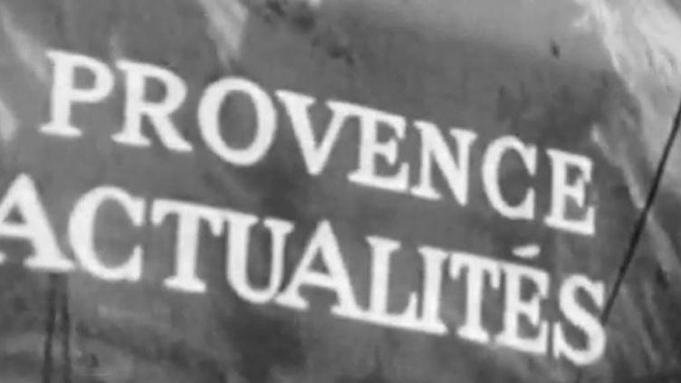 Image extraite d'un JT régional, édition Paca, à ses débuts. (FRANCE 3)