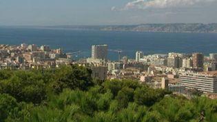 Vue de Marseille depuis Notre-Dame de la Garde (FRANCE 3 Provence-Alpes)
