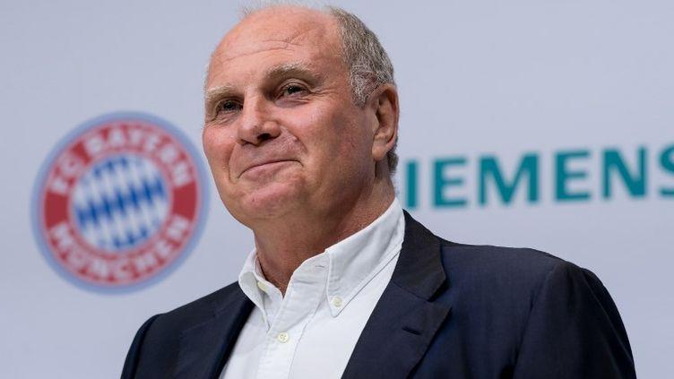 Uli Hoeness, président du Bayern Munich.  (SVEN HOPPE / DPA)