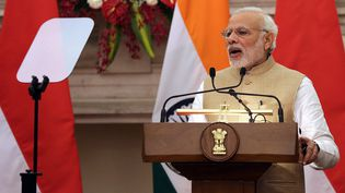 Narendra Modi; Premier ministre en Inde. (HARISH TYAGI / EPA)