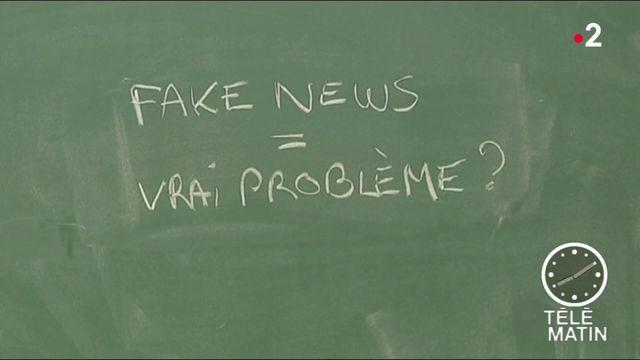 L'école enseigne la chasse aux fake news