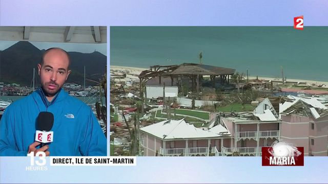 Ouragan Maria : Saint-Martin bientôt coupé du monde ?
