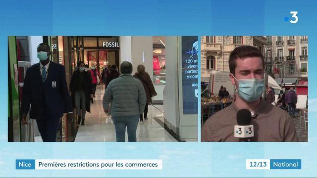 Nice : commerçants et habitantss'adaptent aux nouvelles restrictions