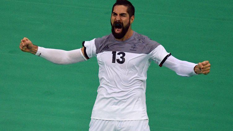 Le handballeur français Nikola Karabatic  (ROBERTO SCHMIDT / AFP)