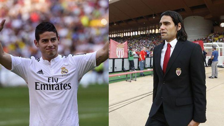James Rodriguez (Real Madrid) et Radamel Falcao (Manchester United) ont été les acteurs du mercato