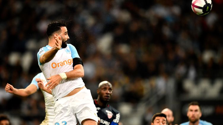 Adil Rami (Olympique de Marseille) (CHRISTOPHE SIMON / AFP)