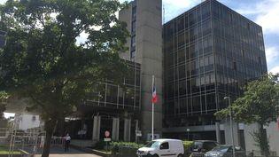 L'hôtel de police de Rouen, en Seine Maritime. (MARIE ROUARCH / FRANCE-BLEU HAUTE-NORMANDIE)