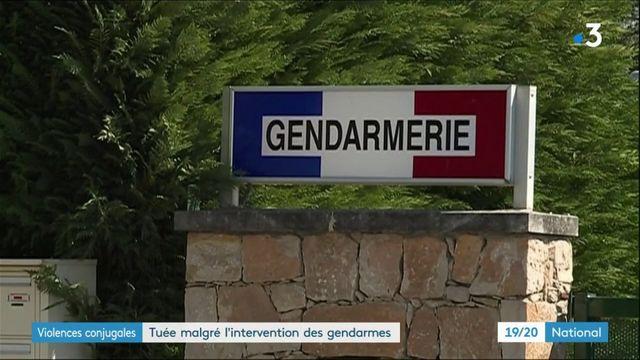 Violences conjugales : une femme tuée malgré l'intervention des gendarmes