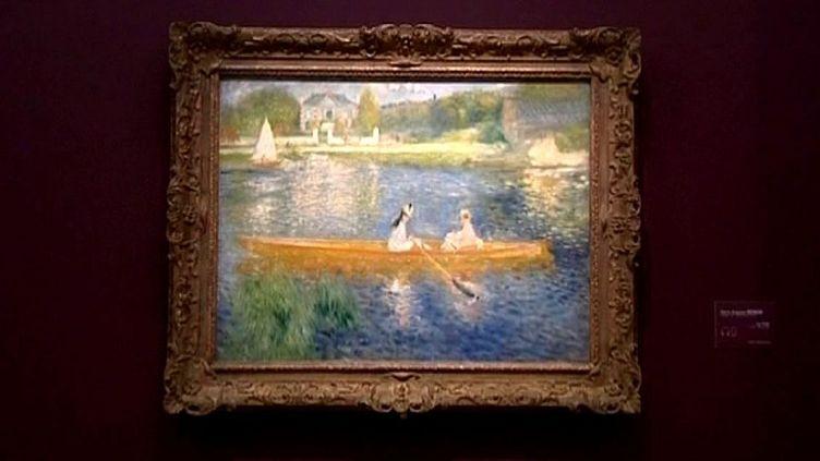 Pierre-Auguste Renoir, La Seine à Asnières dit La Yole, vers 1879  (Culture box / France 3)