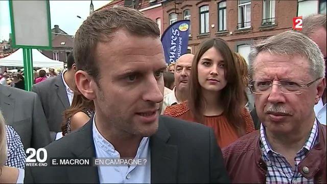 Emmanuel Macron est-il en campagne ?