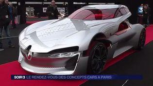 Le Salon du concept-car 2017 à Paris (France 3)
