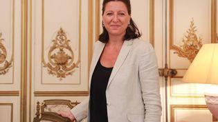 La ministre des Solidaritéset de la Santé,Agnès Buzyn,à Bordeaux (Gironde), le 9 juillet 2018. (MAXPPP)