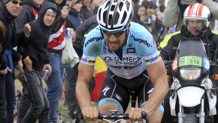 Le quadruple vainqueur du Paris-Roubaix, Tom Boonen