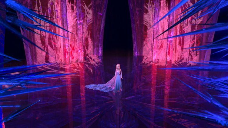 """Photo extraite du film d'animation """"La reine des neiges"""" (2013)  (Copyright Disney)"""