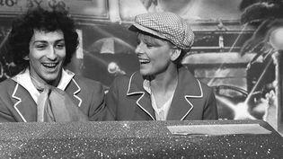 France Gall et Michel Berger dans une émission de télévision dans les années 70  (BOCCON-GIBOD/SIPA)
