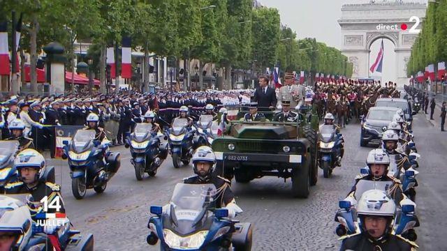 14-Juillet : Macron sifflé lors de la revue des troupes