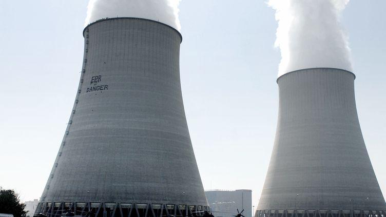La centrale nucléaire de Belleville-sur-Loire (Cher), le 27 mars 2007. (ALAIN JOCARD / AFP)