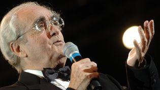 Michel Legrand en 2004  (Martin Bureau/AFP)