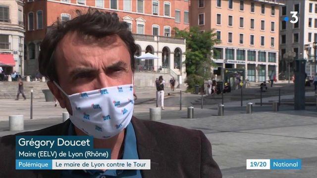 Tour de France : le maire de Lyon entre en guerre