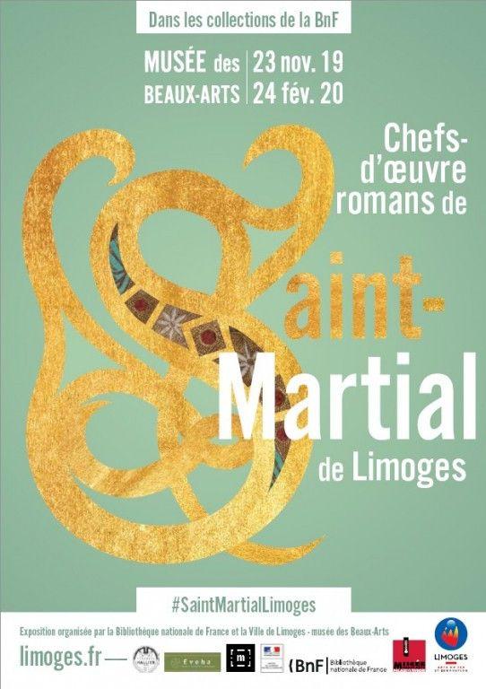 """""""Dans les collections de la BnF : Chefs-d'œuvre romans de Saint-Martial de Limoges"""" (DR / BAL Limoges)"""