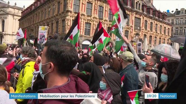 Conflit israélo-palestinien : des manifestations de soutien aux Palestiniens dans toute la France