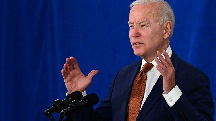 Le président des Etats-Unis, Joe Biden, le 4 juin 2021 àRehoboth Beach, dans le Delaware. (JIM WATSON / AFP)