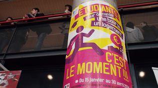 Le salon Admission post-bac, à Paris, le 10 janvier 2014. (BRUNO LEVESQUE / MAXPPP)