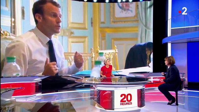 Emmanuel Macron  : le président prend-il un virage social ?