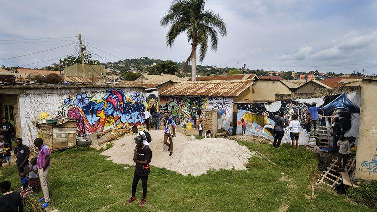 L'Afri-Cans Street Art Festival 2018 (Ouganda) (ROBIN LETELLIER / SIPA)
